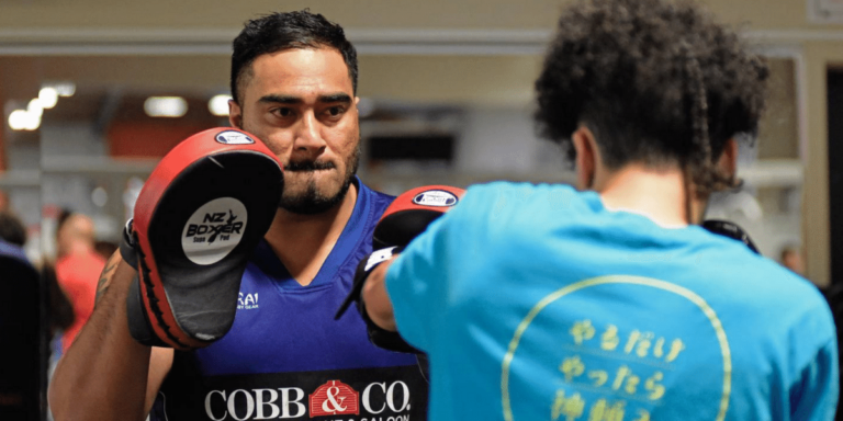 Supporting the Tauranga Boxing Academy is about values