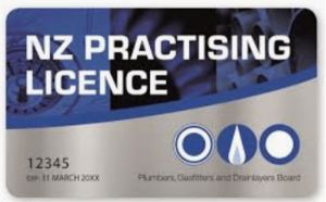 NZ Practising Licence Card