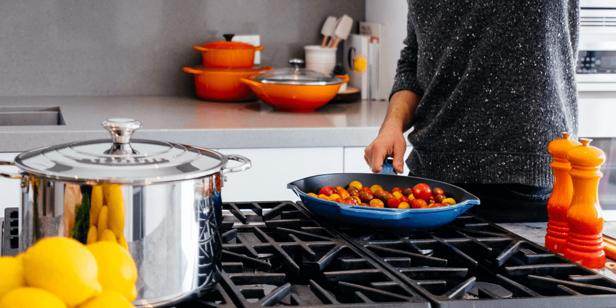 gas hob for cooking