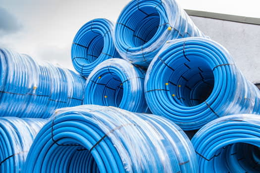 water main pipes