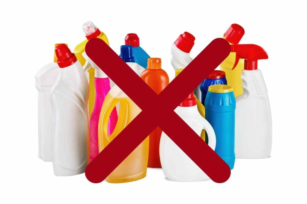 Do not use chemicals to unclog a toilet or drain as this may cause more damage.